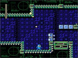 In game image of Mega Man 10 on the Nintendo WiiWare.