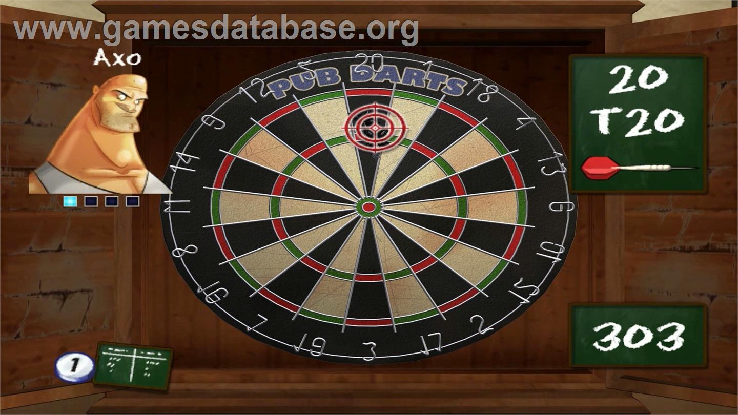Pub Darts Nintendo Wiiware Artwork In Game