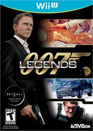 Box cover for 007 Legends on the Nintendo Wii U.