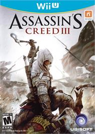 Box cover for Assassin's Creed III on the Nintendo Wii U.