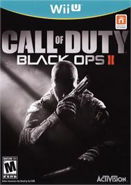 Box cover for Call of Duty - Black Ops II on the Nintendo Wii U.