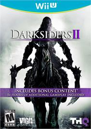 Box cover for Darksiders II on the Nintendo Wii U.