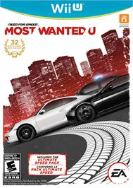 Box cover for Need for Speed - Most Wanted U on the Nintendo Wii U.