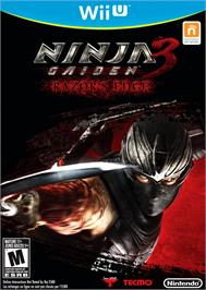 Box cover for Ninja Gaiden 3 - Razor's Edge on the Nintendo Wii U.