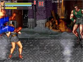 In game image of Beats of Fighting on the OpenBOR.