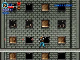 In game image of Contra - Locked 'N Loaded on the OpenBOR.