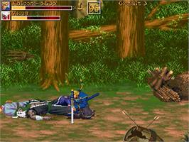 In game image of Dragons Of Rage on the OpenBOR.