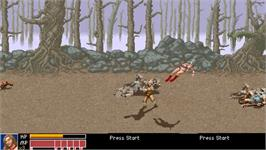 In game image of Golden Axe Remake on the OpenBOR.