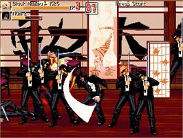 In game image of Kill Bill - Volume 1 on the OpenBOR.
