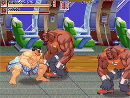 In game image of Kill Ryu 2 on the OpenBOR.