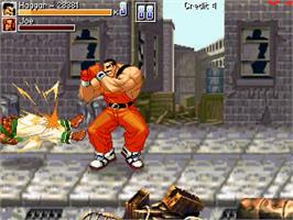 In game image of Luta Final Fight on the OpenBOR.