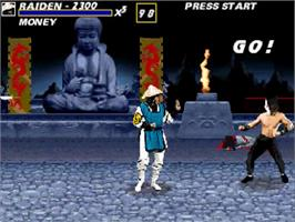In game image of Mortal Kombat on the OpenBOR.