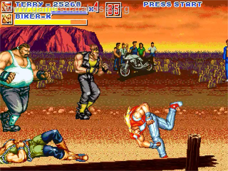 Fatal Fury ReBout 2 - OpenBOR - Artwork - In Game