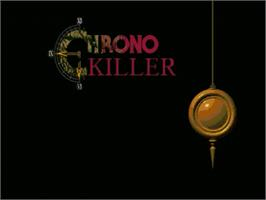Title screen of Chrono Killer on the OpenBOR.