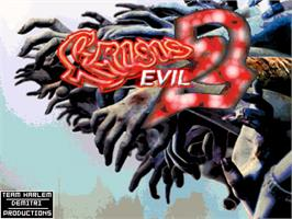 Title screen of Crisis Evil 2 on the OpenBOR.