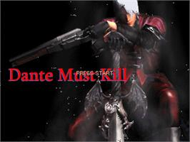 Title screen of Dante Must Kill on the OpenBOR.