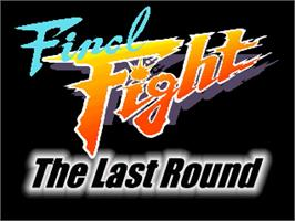 Title screen of Final Fight - Last Round on the OpenBOR.