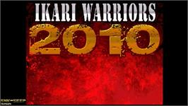 Title screen of Ikari Warriors 2010 on the OpenBOR.