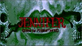 Title screen of Jennifer on the OpenBOR.