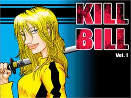 Title screen of Kill Bill - Volume 1 on the OpenBOR.