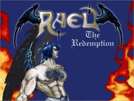 Title screen of Rael - The Redemption on the OpenBOR.
