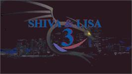 Title screen of Shiva & Lisa 3 on the OpenBOR.