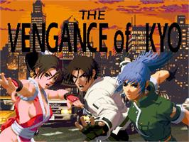 Title screen of Vengeance of Kyo, The on the OpenBOR.