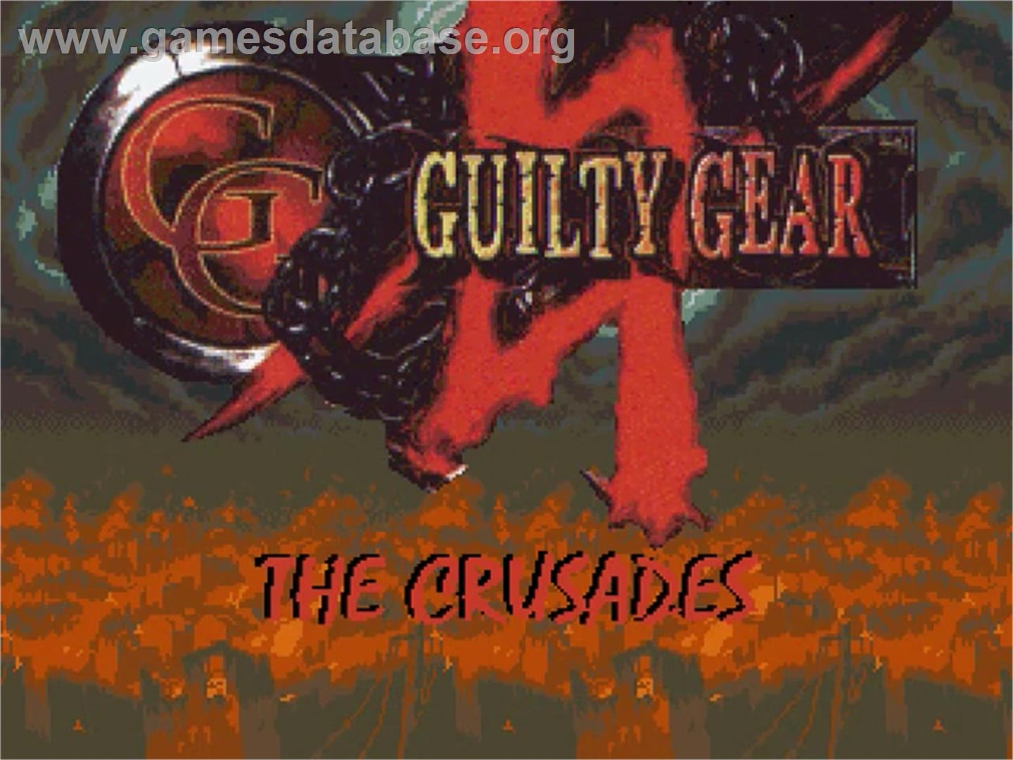 Guilty Gear - The Crusades - OpenBOR - Artwork - Title Screen