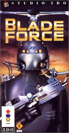 Box cover for Blade Force on the Panasonic 3DO.