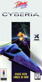 Box cover for Cyberia on the Panasonic 3DO.