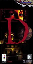 Box cover for D on the Panasonic 3DO.