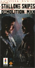 Box cover for Demolition Man on the Panasonic 3DO.