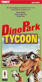 Box cover for Dinopark Tycoon on the Panasonic 3DO.