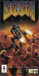 Box cover for Doom on the Panasonic 3DO.