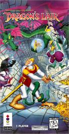 Box cover for Dragon's Lair on the Panasonic 3DO.