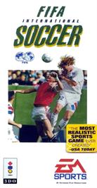 Box cover for FIFA International Soccer on the Panasonic 3DO.