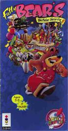 Box cover for Fatty Bear's Birthday Surprise on the Panasonic 3DO.