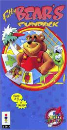 Box cover for Fatty Bear's Fun Pack on the Panasonic 3DO.
