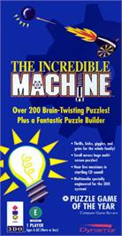 Box cover for Incredible Machine on the Panasonic 3DO.