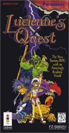 Box cover for Lucienne's Quest on the Panasonic 3DO.