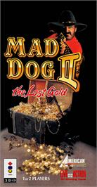 Box cover for Mad Dog II: The Lost Gold on the Panasonic 3DO.