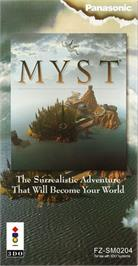 Box cover for Myst on the Panasonic 3DO.