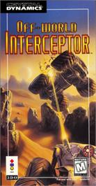 Box cover for Off-World Interceptor Extreme on the Panasonic 3DO.