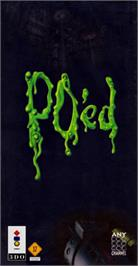 Box cover for PO'ed on the Panasonic 3DO.
