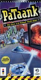 Box cover for PaTaank on the Panasonic 3DO.