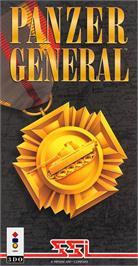 Box cover for Panzer General on the Panasonic 3DO.