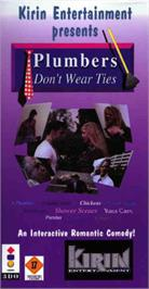 Box cover for Plumbers Don't Wear Ties on the Panasonic 3DO.