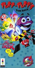 Box cover for Putt-Putt's Fun Pack on the Panasonic 3DO.
