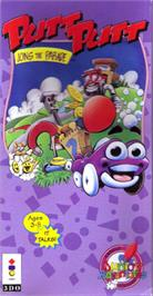 Box cover for Putt-Putt Joins the Parade on the Panasonic 3DO.