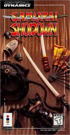 Box cover for Samurai Shodown / Samurai Spirits on the Panasonic 3DO.